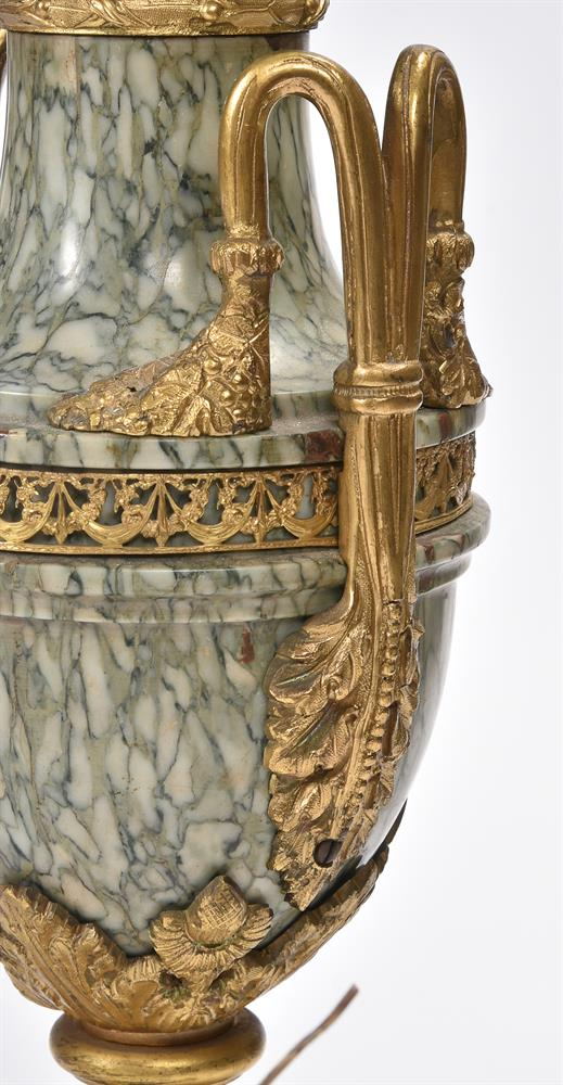 AFTER CORNELIUS VON CLEVE, A BRONZE AND ORMOLU FIGURAL TABLE LAMP, SECOND HALF 19TH CENTURY - Image 7 of 8