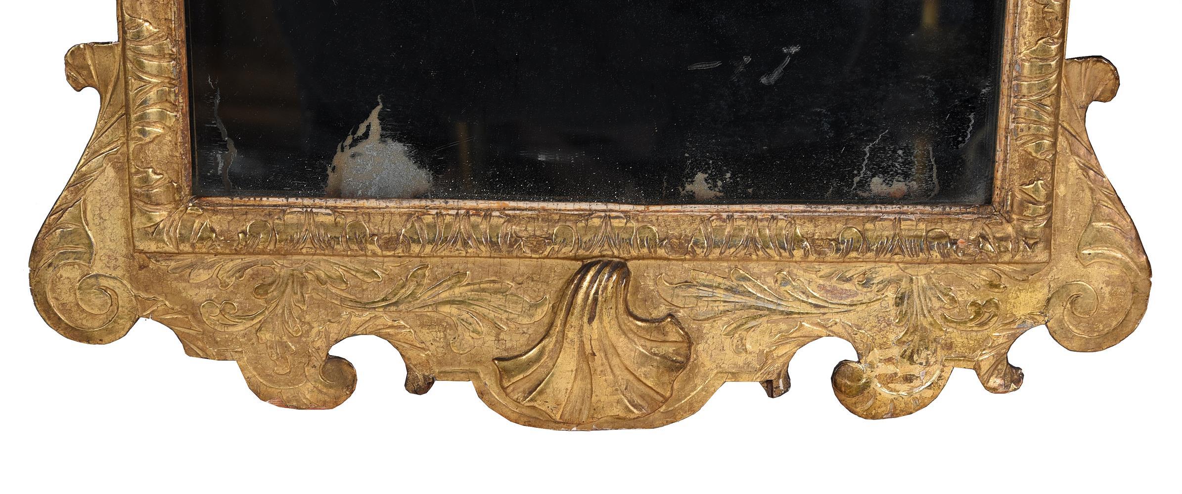 A GEORGE I GILTWOOD WALL MIRROR, CIRCA 1720 - Image 3 of 5