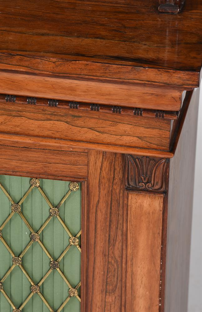 Y A WILLIAM IV ROSEWOOD SIDE CABINET, CIRCA 1835 - Image 2 of 6
