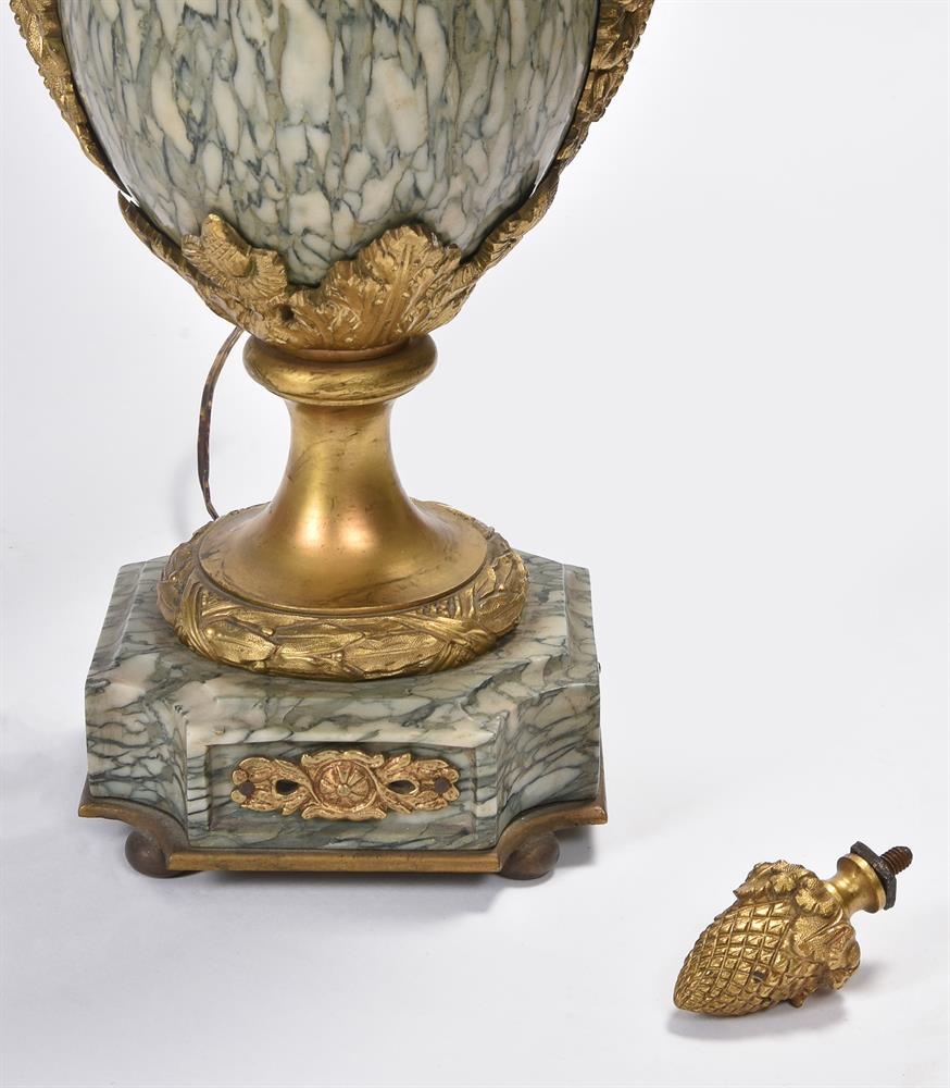 AFTER CORNELIUS VON CLEVE, A BRONZE AND ORMOLU FIGURAL TABLE LAMP, SECOND HALF 19TH CENTURY - Image 5 of 8