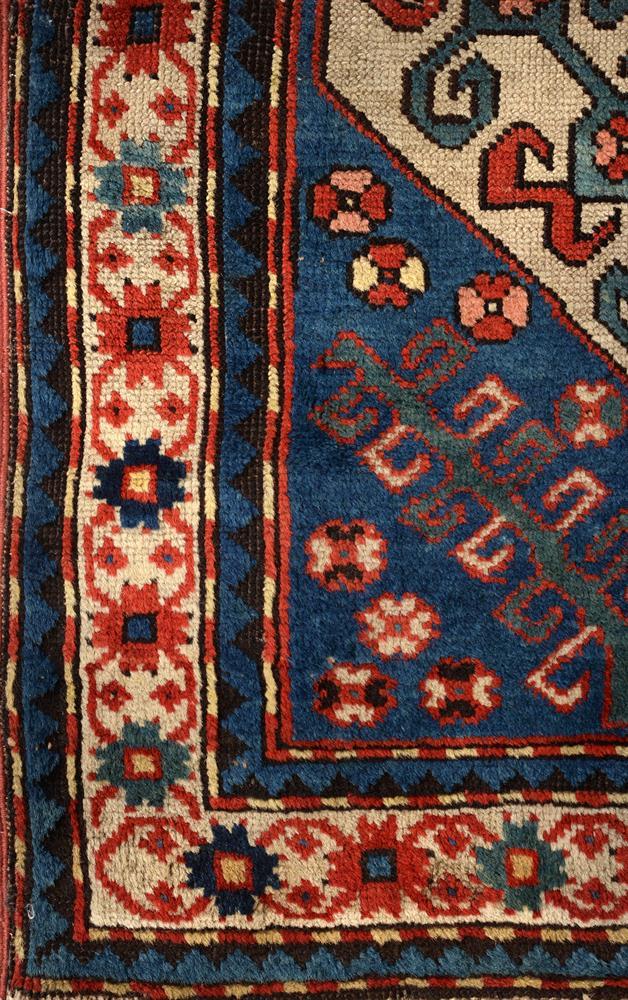 A KAZAK RUG, approximately 217 x 116cm - Image 3 of 3