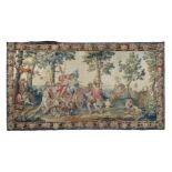 A MORTLAKE TAPESTRY DEPICTING AUTUMN, EARLY 18TH CENTURY, AFTER PIERRE MIGNARD