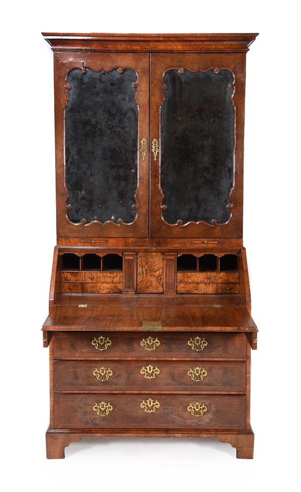 A GEORGE II WALNUT BUREAU BOOKCASE, CIRCA 1740, IN THE MANNER OF GILES GRENDEY - Image 2 of 9