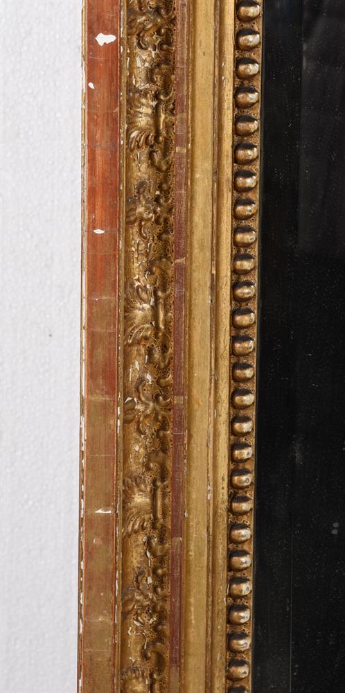 A REGENCY GILTWOOD WALL MIRROR, CIRCA 1820 - Image 2 of 2