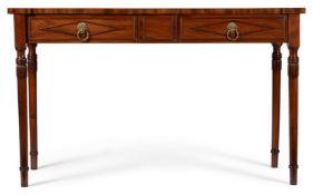 A REGENCY MAHOGANY SERVING OR HALL TABLE, CIRCA 1815