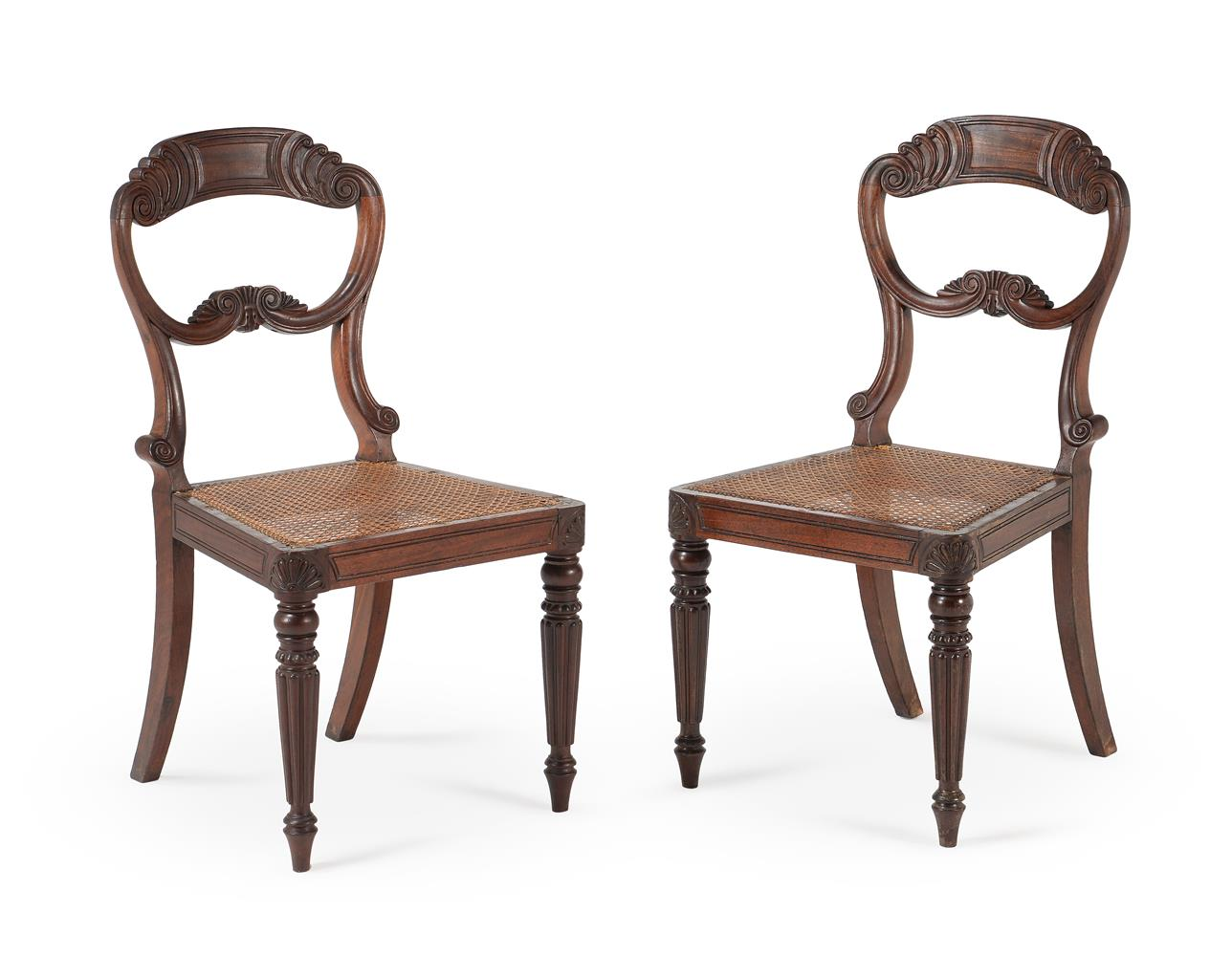 A SET OF EIGHT WILLIAM IV MAHOGANY DINING CHAIRS, CIRCA 1835, ATTRIBUTED TO GILLOWS - Image 3 of 9