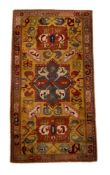 A TETEX RUG, approximately 244 x 150cm