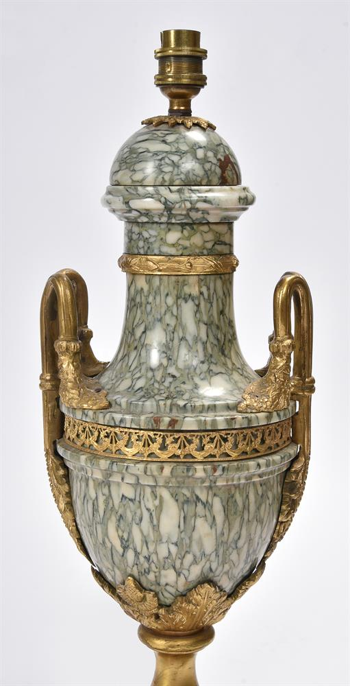 AFTER CORNELIUS VON CLEVE, A BRONZE AND ORMOLU FIGURAL TABLE LAMP, SECOND HALF 19TH CENTURY - Image 6 of 8