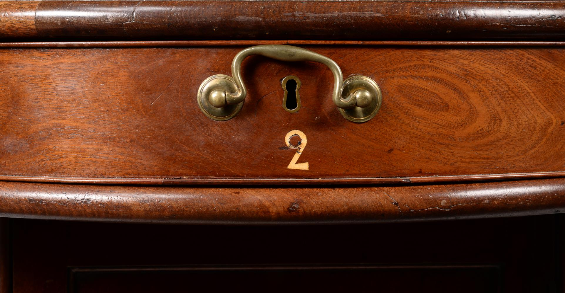 A GEORGE III MAHOGANY LIBRARY OR RENT TABLE, CIRCA 1780 - Image 2 of 7