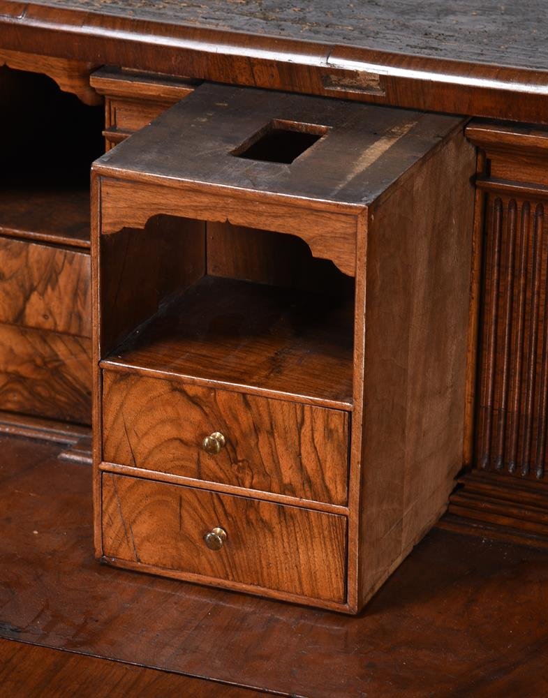 A GEORGE II WALNUT BUREAU BOOKCASE, CIRCA 1740, IN THE MANNER OF GILES GRENDEY - Image 9 of 9