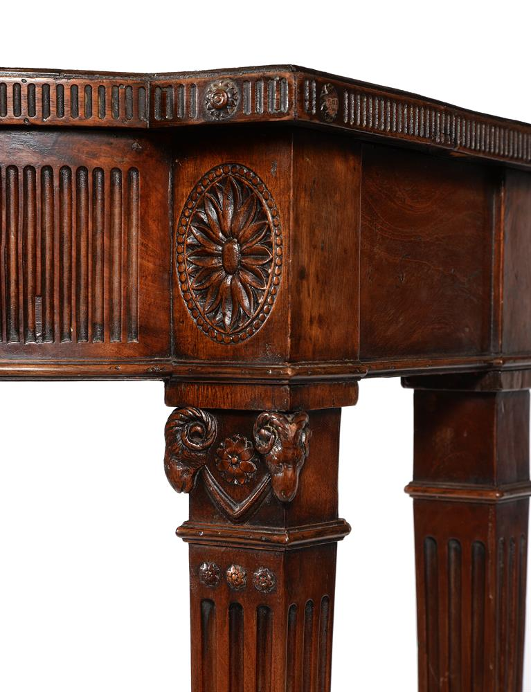 A GEORGE III MAHOGANY SERVING OR HALL TABLE, CIRCA 1785 - Image 3 of 6