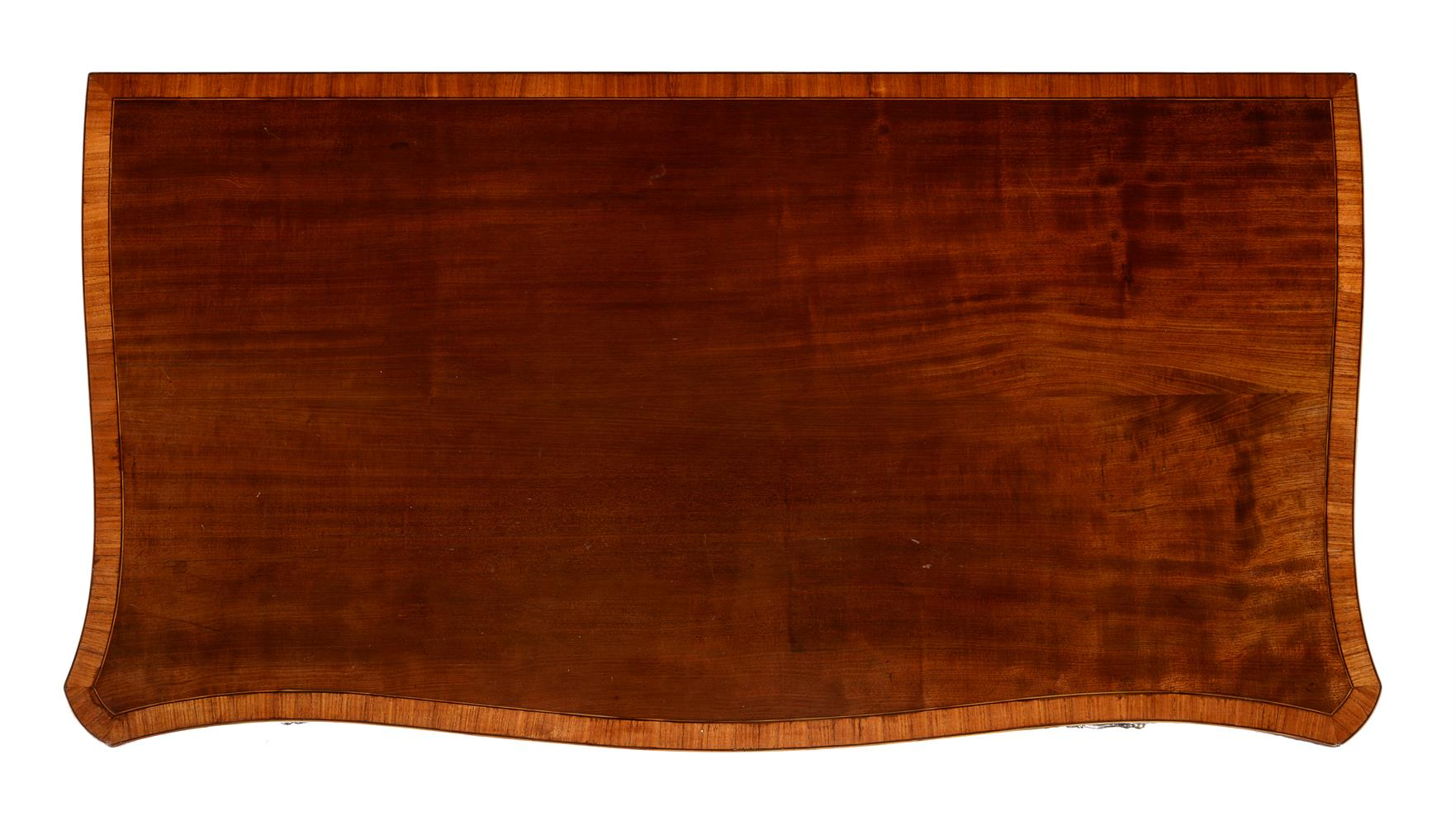 Y A GEORGE III MAHOGANY AND TULIPWOOD CROSSBANDED DRESSING TABLE, CIRCA 1785 - Image 2 of 4