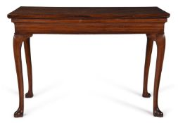 A WALNUT SIDE TABLE, POSSIBLY IRISH, CIRCA 1750 AND LATER