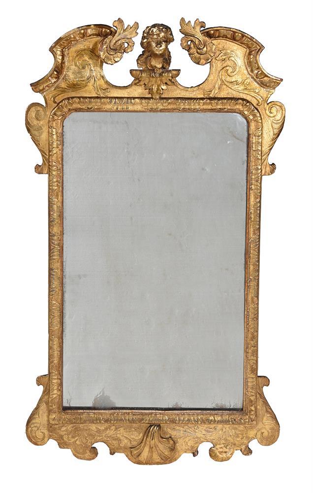 A GEORGE I GILTWOOD WALL MIRROR, CIRCA 1720