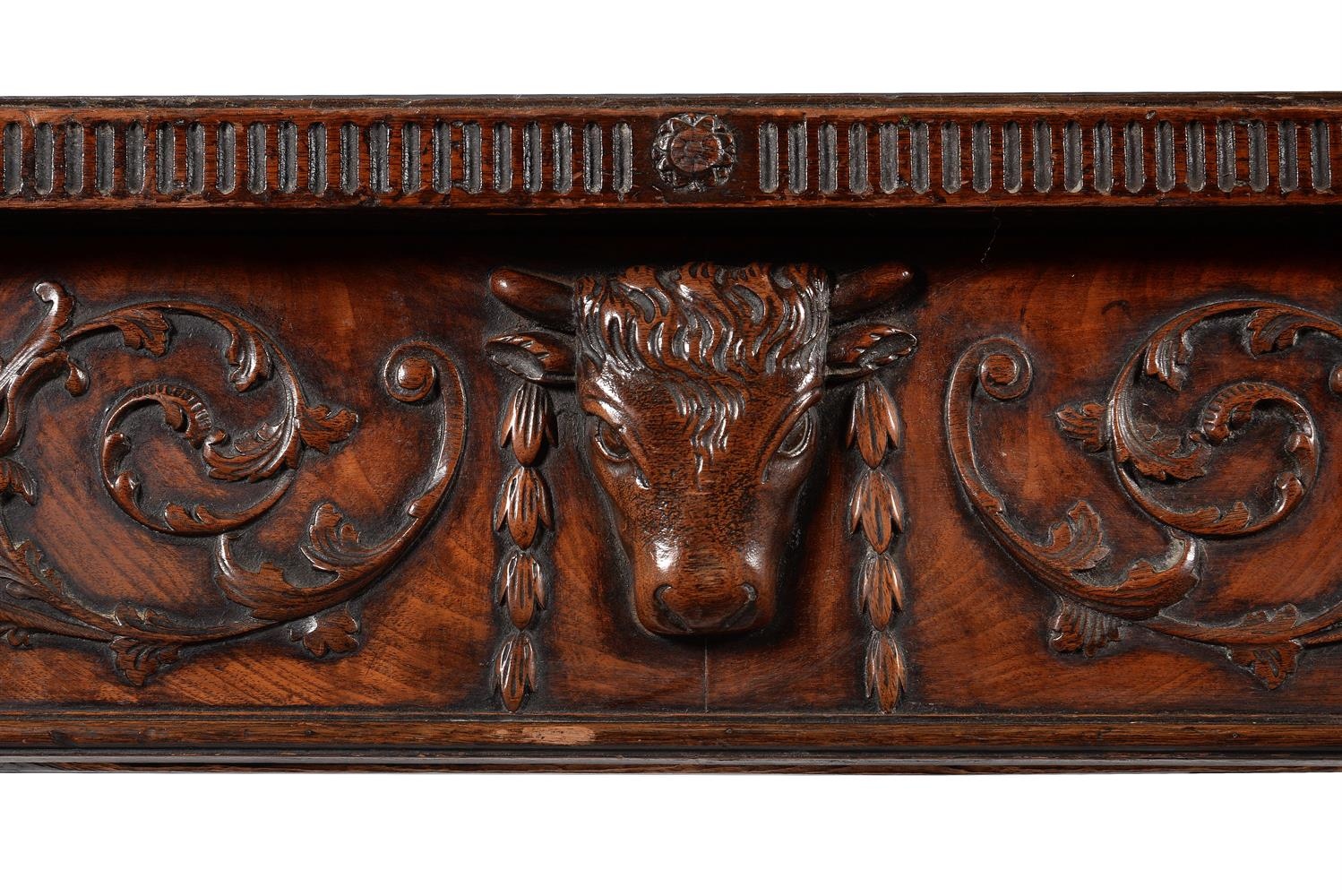 A GEORGE III MAHOGANY SERVING OR HALL TABLE, CIRCA 1785 - Image 4 of 6
