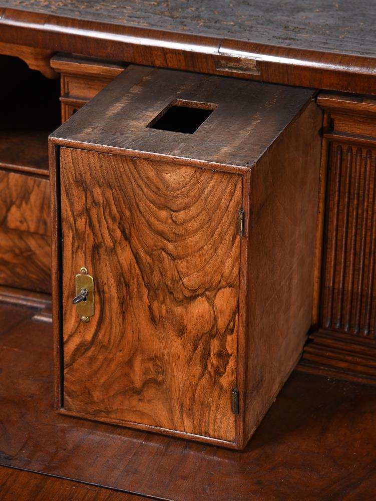 A GEORGE II WALNUT BUREAU BOOKCASE, CIRCA 1740, IN THE MANNER OF GILES GRENDEY - Image 8 of 9