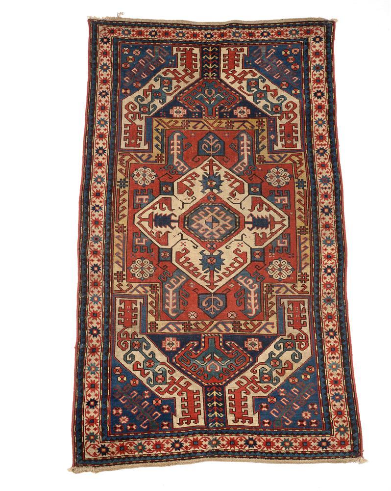 A KAZAK RUG, approximately 217 x 116cm
