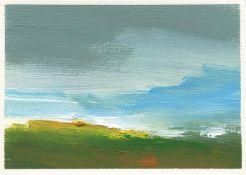 Mary Burtenshaw, Summer Clouds, 2021