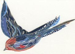 Peter Clark, Free as a Bird, 2021