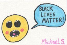 Michael Scoggins, Black Lives Matter #1, 2021
