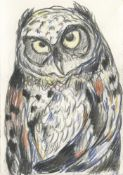 Kate McCrickard, Owl, 2021