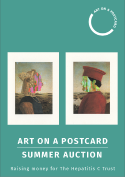 Art on a Postcard Summer Auction in aid of The Hepatitis C Trust