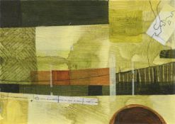 Julia Chance, Bridge, Meadows and Low Evening Sun, 2021