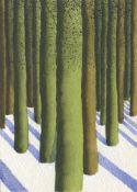 Simon Palmer, Melting Snow, 2021