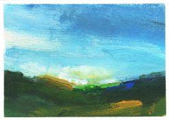 Mary Burtenshaw, Windswept Skies, 2021
