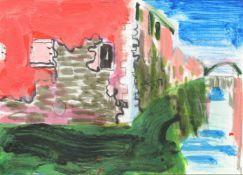 Virginia Bodman, Postcard from Cannaregio, 2021