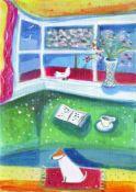 Kate Wrigglesworth, The Window Seat, 2021