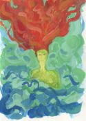 Jennifer Wyse, Mermaid with Feiry Hair, 2021