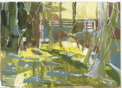 Anne Lever, Wood in Spring, 2021