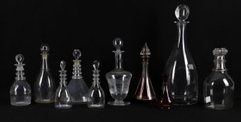 Glass to include a William Yeowood magnum decanter