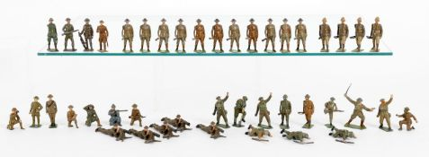 Britains Infantry in Action Sets
