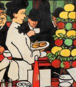 Jean Emile Labourer (1887-1943) The barmaid