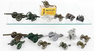 Britains from various Artillery sets