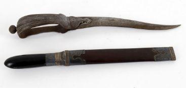 Militaria- 19th century Indian foot dagger