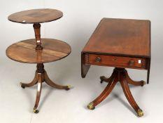 An early 19th mahogany Pembroke table