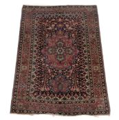 A Persian stylised prayer rug