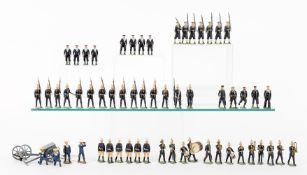 Britains various Royal Navy and Marine Sets to include: Royal Marines