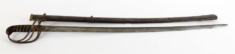 Militaria- Johnston Dublin 1854 pattern officer's sword