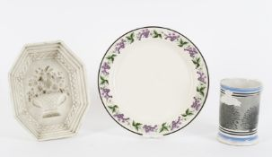 A 19th century Swansea plate