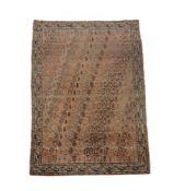An antique Afshar carpet