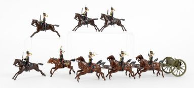 Britains Royal Horse Artillery comprising of six horse team