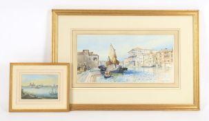 Ainslie H. Bean (active 1870-1886) Venice