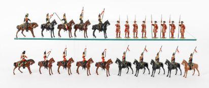 Britains Mounted Lancers
