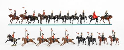 Britains Lancers and Life Guards