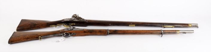 Militaria- a Brown Bess musket