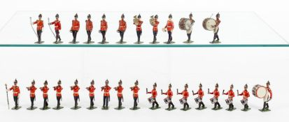 Britains Band of the Line from various sets